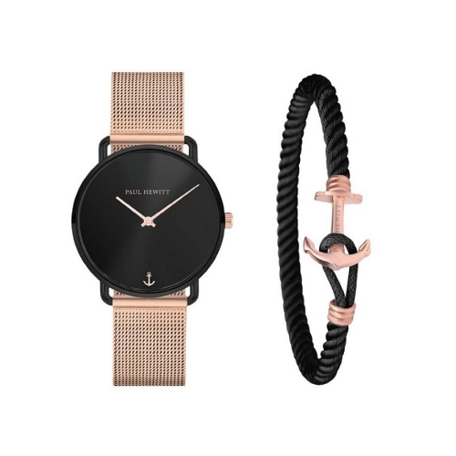 PAUL HEWITT 完美腕錶/尼龍船錨手環組