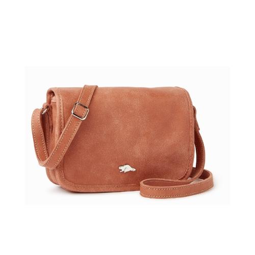 ROOTS 安潔莉娜側背包 (玫瑰粉色)