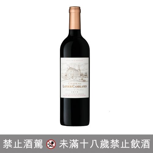 法國波爾多拉圖康布蘭堡 紅葡萄酒 2015年 14% 0.75L 6入/箱