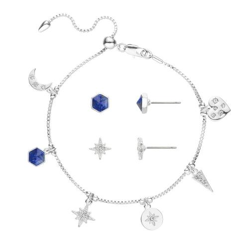 Buckley London 占星師系列可調式手鍊耳環套裝