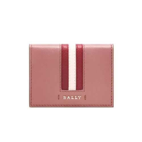 BALLY SALDER 名片夾 (玫瑰色)