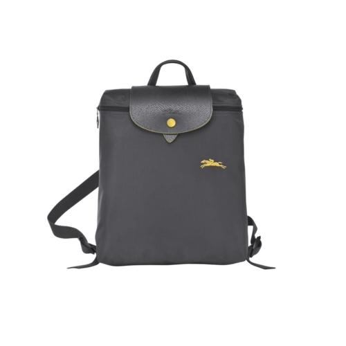 (特價品) Longchamp LE PLIAGE CLUB系列後背包 - 鐵灰色