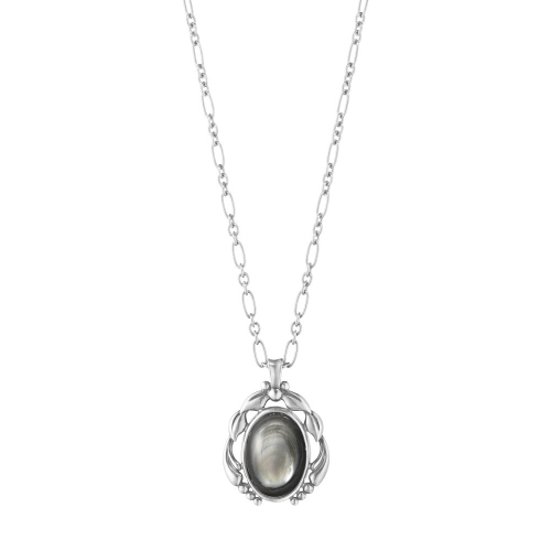 喬治傑生 2020 HERITAGE 鍊墜 - 純銀配黑珍珠母貝