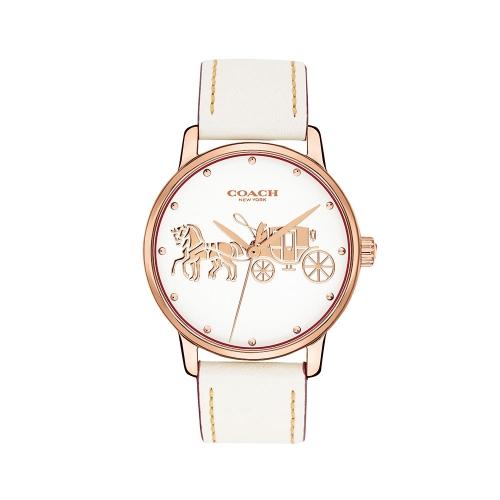 COACH Grand系列女士腕錶