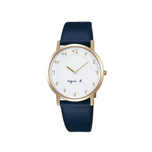 agnès b. 經典時尚腕錶