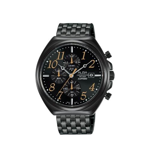 ALBA 都會流行計時男錶