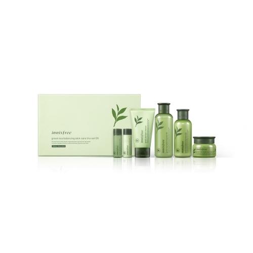 (即期品) innisfree綠茶平衡水潤護膚三部曲